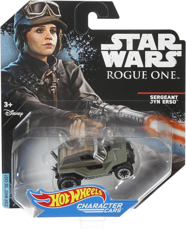 Hot Wheels Star Wars Rogue One Character Car Sergeant Jyn Erso