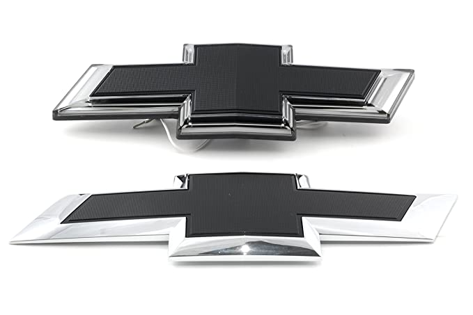 Amazon Oem New Illuminated Bow Tie Emblem Kit Front Rear Black