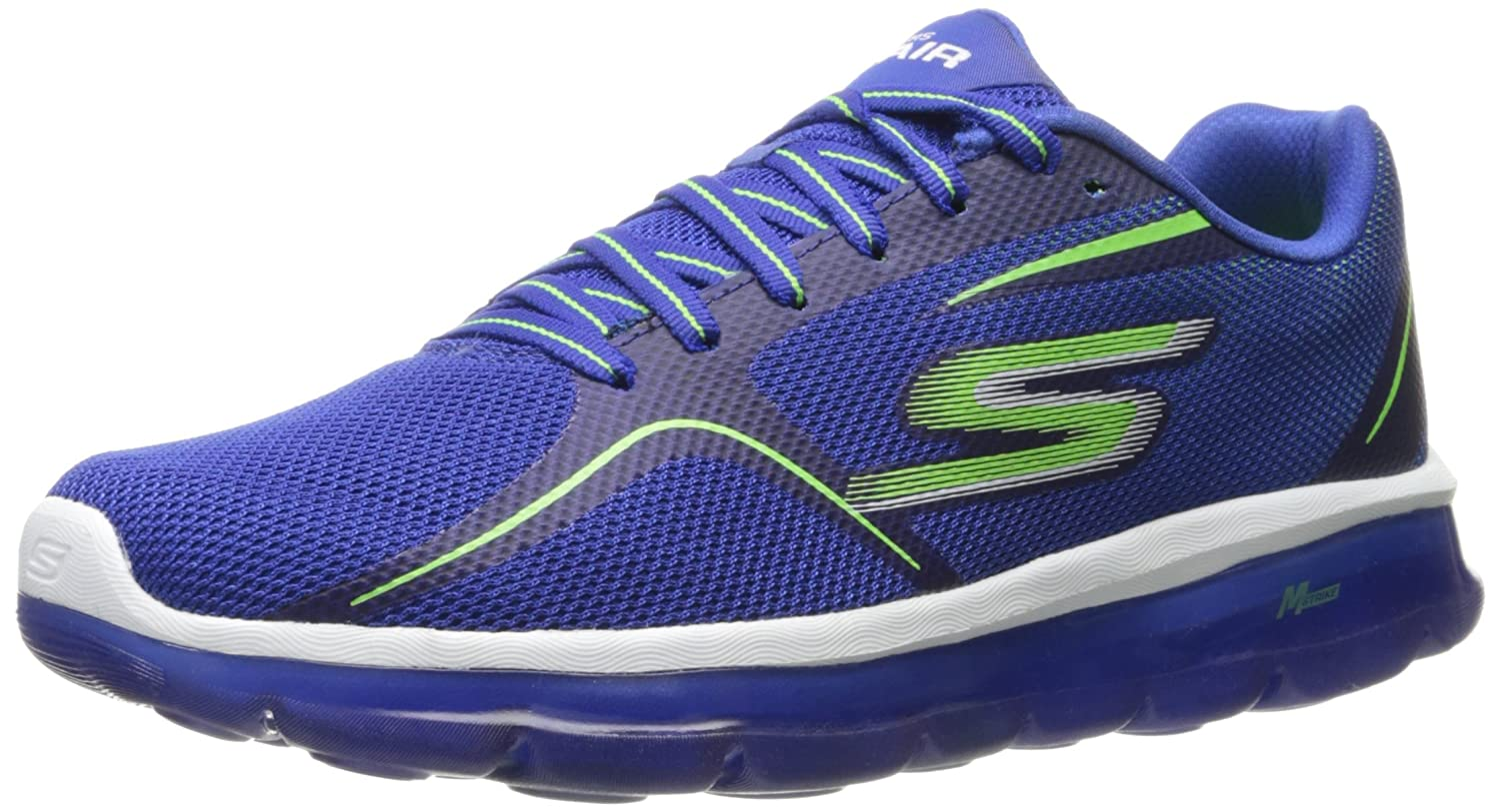 Skechers Performance Men's Go Air 2 Walking Shoe 8 D(M) US|Blue/Lime