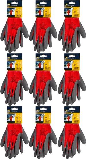 Wählen Sie für späteste uk billig verkaufen 100% authentisch Gebol Montagehandschuh Eco Grip Arbeitshandschuhe (10, 9 ...