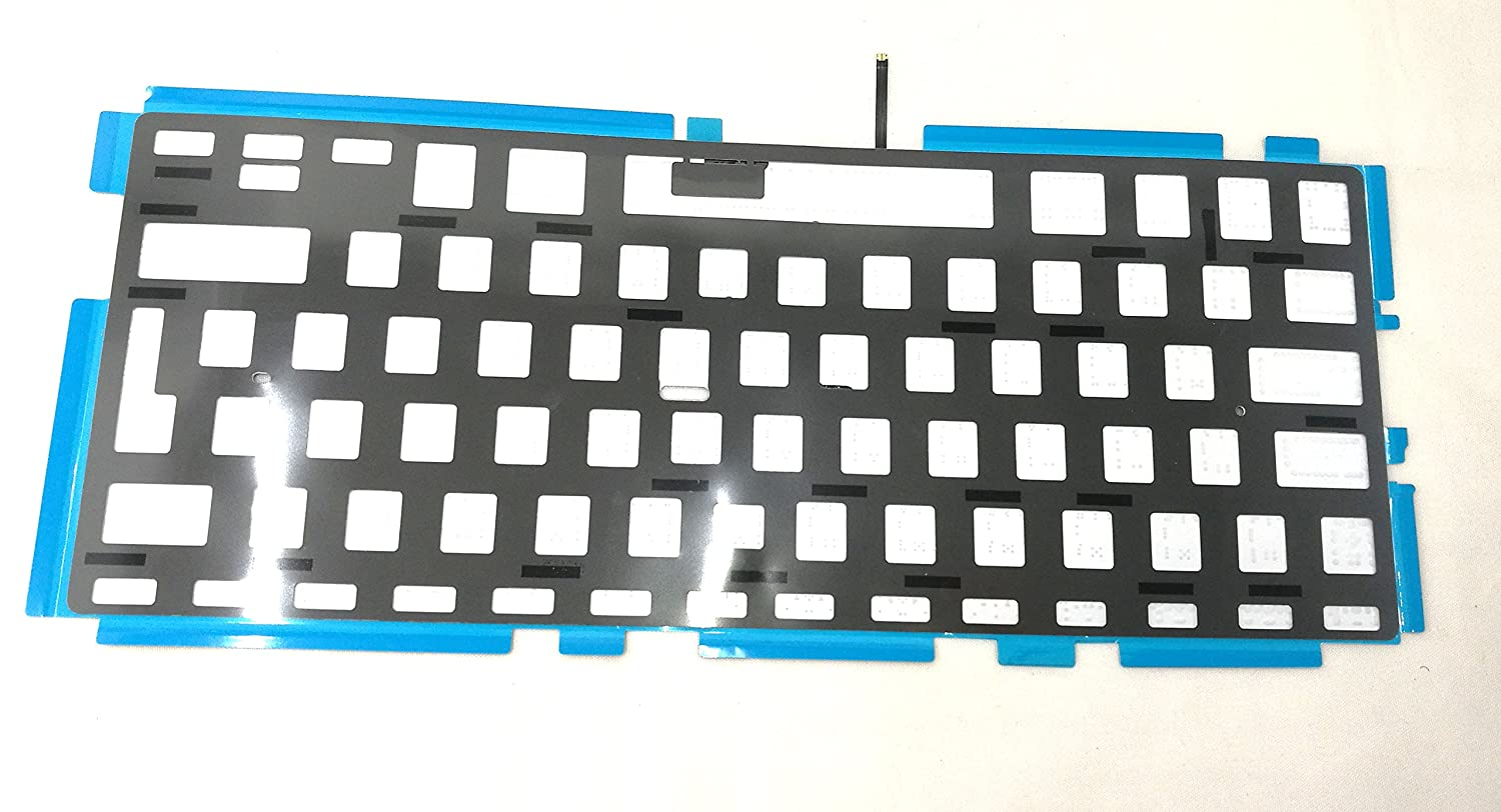 US Keyboard Backlight Replacment Fit for Apple MacBook Pro 13 Unibody A1278 604-2948 2009, 2010, 2011, 2012 Ittecc