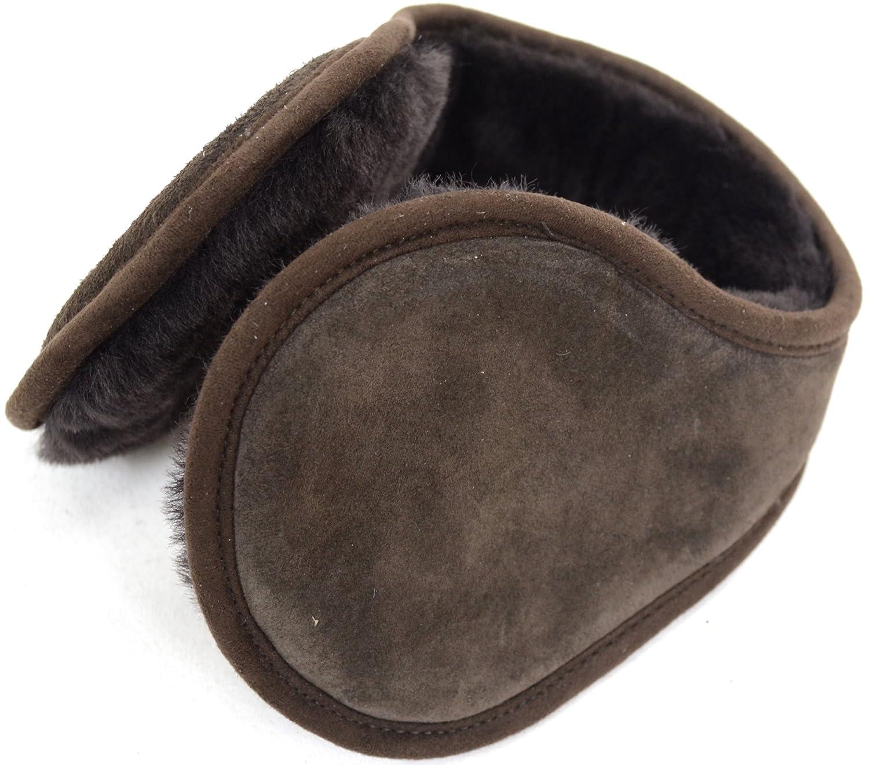 Unisex Suede Finish / Sheepskin Lined Earmuffs