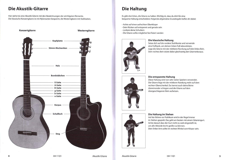 Guitarra acústica – aprendizaje rápido y fácil – con CD, DVD y ...