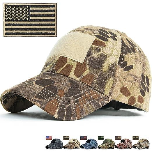 22b340e04ba REDSHARKS Snake Camouflage Baseball Cap Hunting Shooting Tactical Military  Army Camo Hat Green