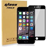 TINICR iPhone 8Plus 7Plus Privacy Screen Protector Tempered Glass Film Screen Guard 4.7 Inch Black Full Coverage Screen Mirror Cover for iPhone 8Plus 7Plus