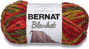 Bernat Blanket Super Bulky Yarn, 5.3oz, Guage 6 Super Bulky, Harvest