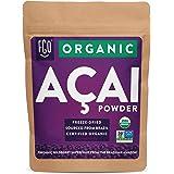 Organic ACAI Powder (Freeze-Dried) | 4oz Resealable Kraft Bag | 100% Raw Superfood Berry From Brazil | by FGO