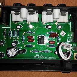 Audibax PP4000 Previo Phono RIAA. Interruptor ON/OFF: Amazon ...