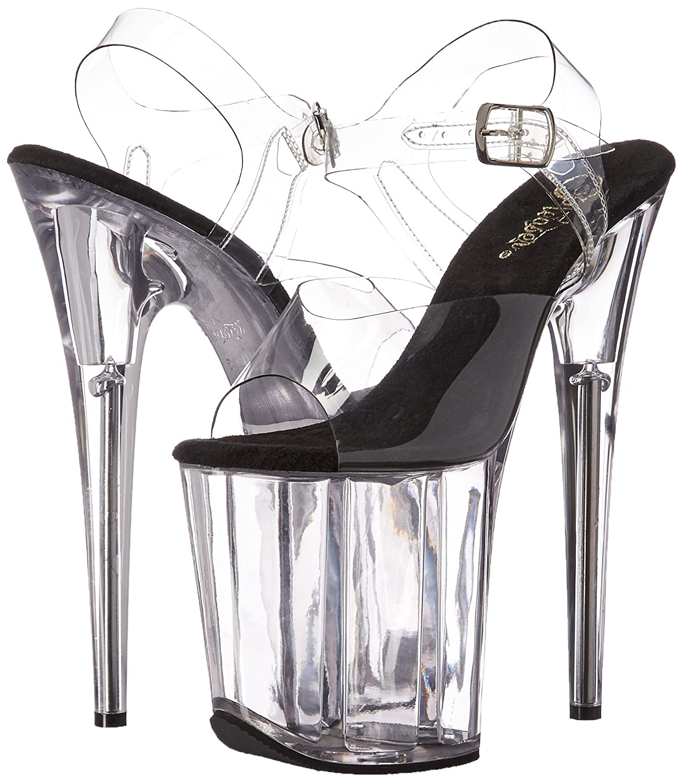 Amazon.com | Pleaser Womens Flam808/c-b/c Platform Sandal | Platforms & Wedges