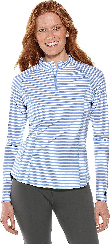 【後払い手数料無料】 Coolibar 長袖ラッシュガード Stripe UPF50+ X-Large|Powder レディース X-Large 日焼け防止 B07JG6JQB5 Powder Blue/White Stripe X-Large X-Large|Powder Blue/White Stripe, タックルアイランド:0fe52739 --- svecha37.ru