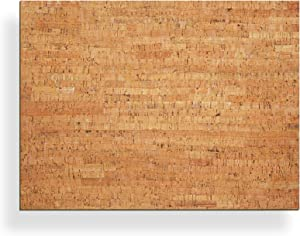 "20"" x 15"" Bulletin Board with Decorative Cork Veneer"