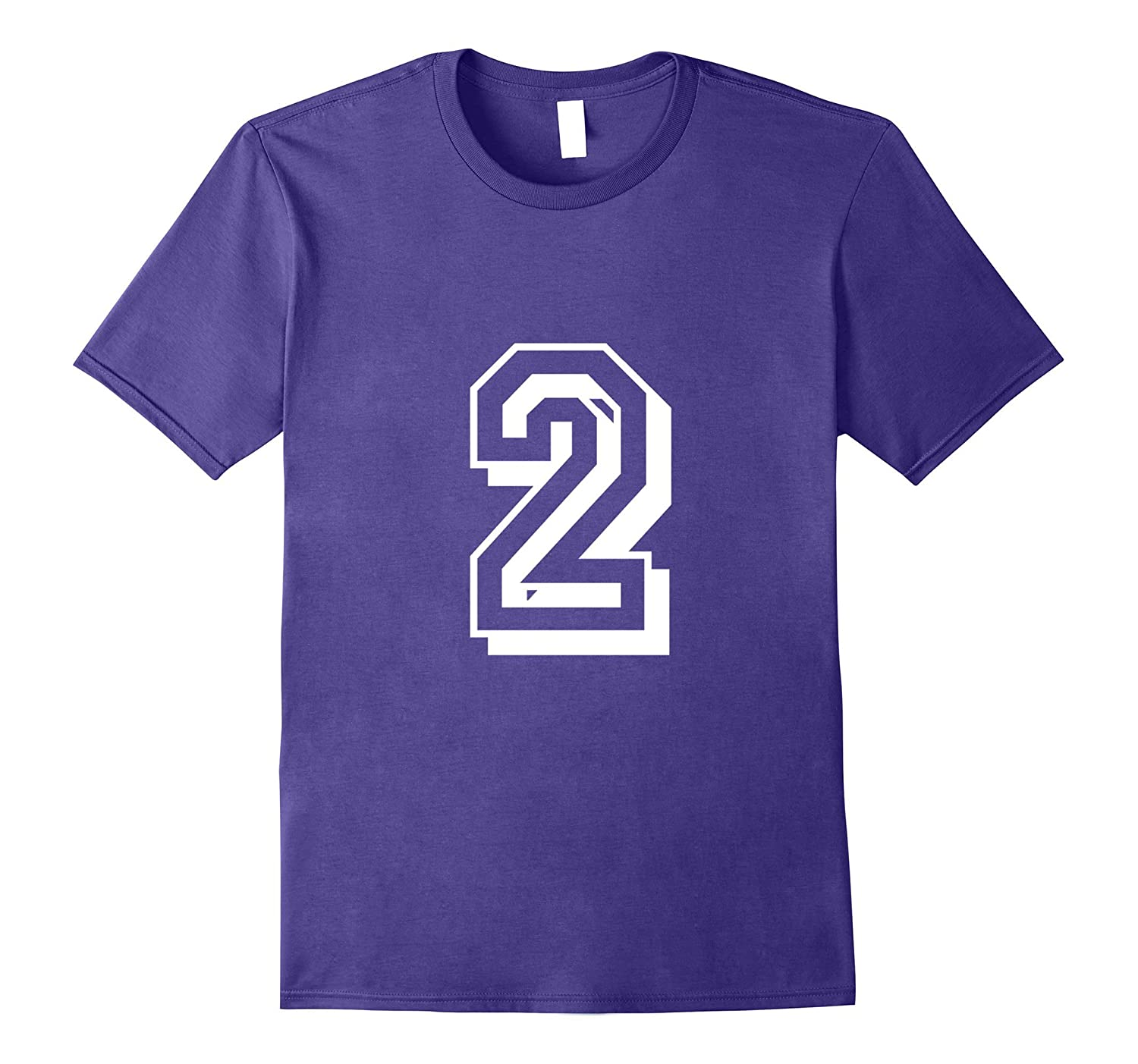 2 Number 2 Sports Jersey T-shirt My Favorite Player 2-Vaci