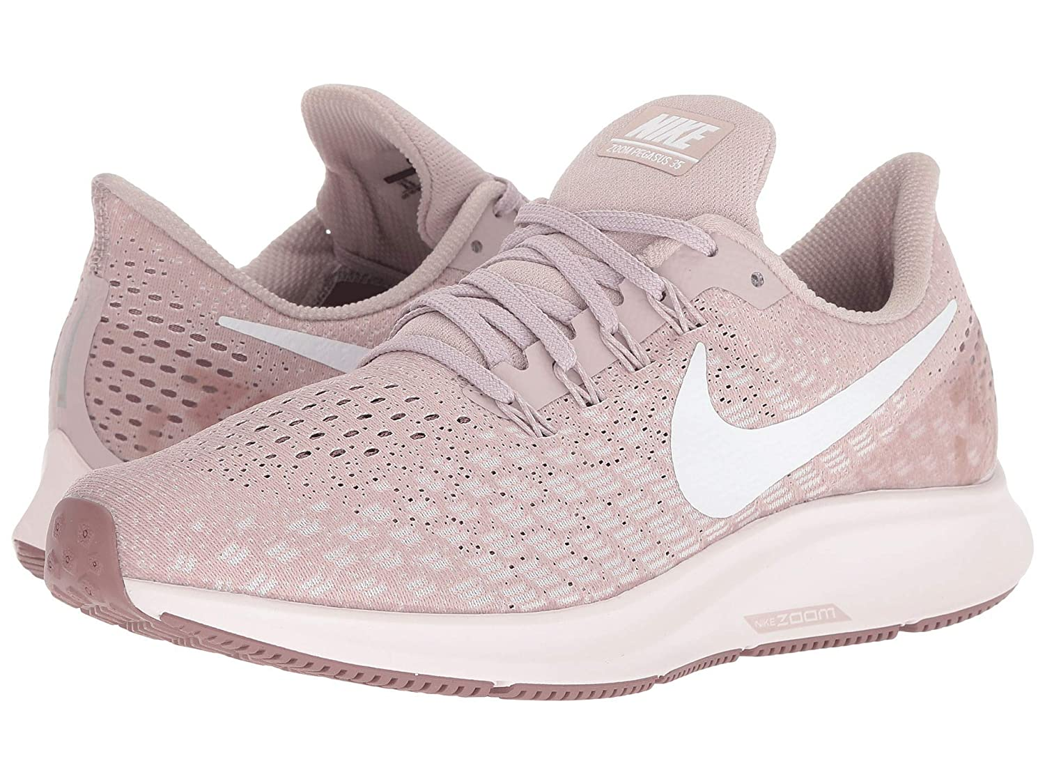 [NIKE(ナイキ)] レディーステニスシューズスニーカー靴 Air Zoom Pegasus 35 Particle Rose/White/Smokey Mauve 7 (24cm) B - Medium B07HW1DQGJ