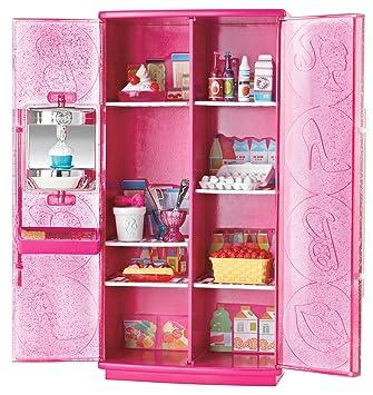 Mattel T9081 Barbie Mobel Kuhlschrank Mit Softeis Bereiter
