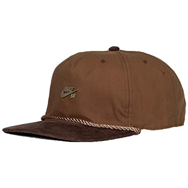 Nike SB Waxed Canvas Pro Cap. Ale Brown/Baroque Brown/Anthracite ...