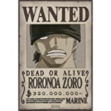 ABYstyle ONE PIECE - Poster Wanted Zoro New (52x35)