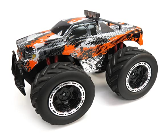 268c61a6a87b Image Unavailable. Image not available for. Color  JC Toys Huge 4x4 Remote  Control Monster Truck