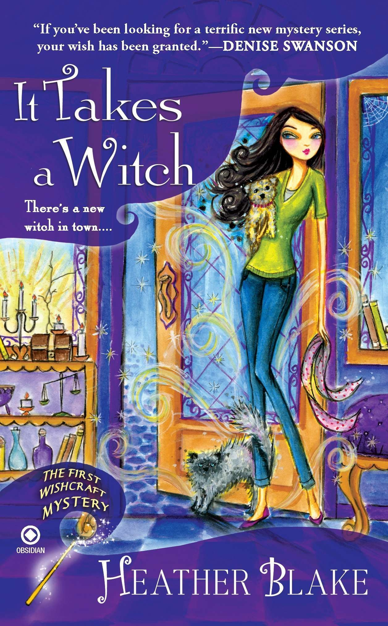 Read Online It Takes a Witch: A Wishcraft Mystery ebook