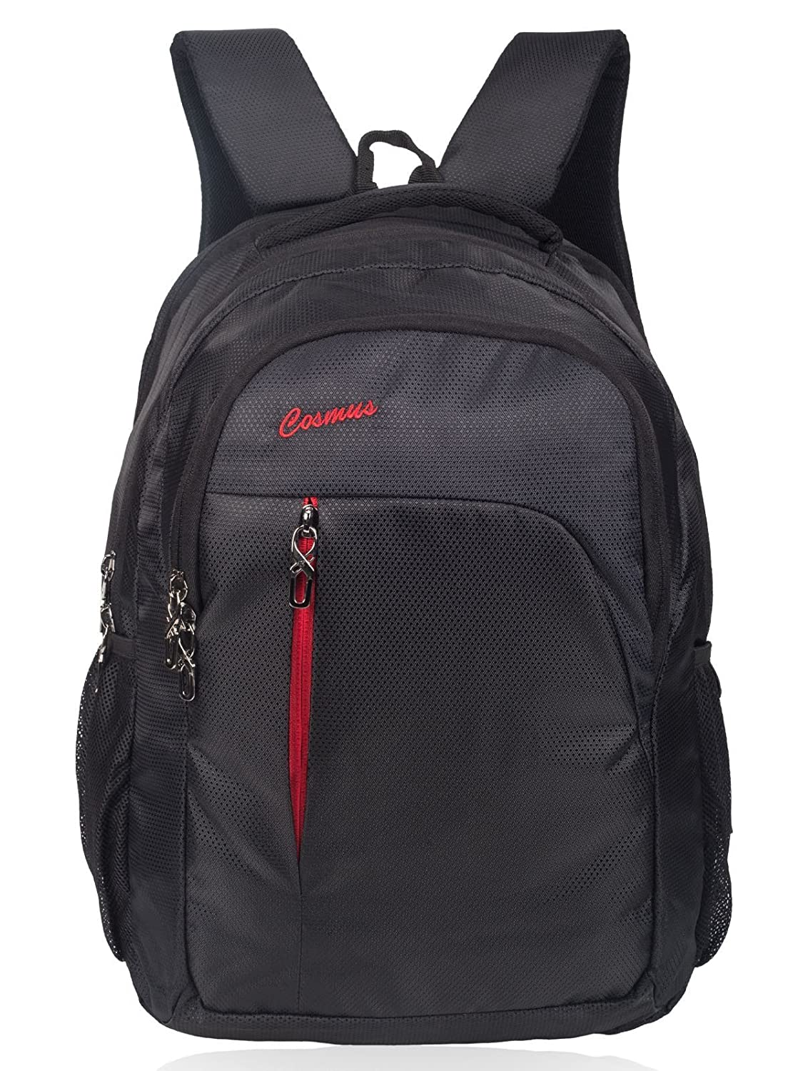 Cosmus Linux 39 litres Black & Red Laptop Backpack