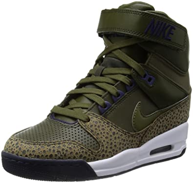 832a528fa64b Nike womens air revolution sky HI hi top trainers 599410 300 sneakers wedge  shoes (uk