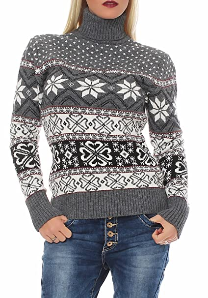 marchio popolare classico vende malito maglione in lana con collo alto in stile norvegese b4476 ...