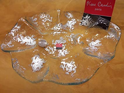 Pierre Cardin Centro Centro Tabla Cristal soplado regalo Navidad boda