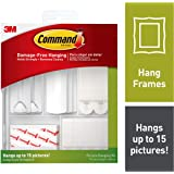 3M 17213ES Command Picture Hanging Kit, Multi-Colour