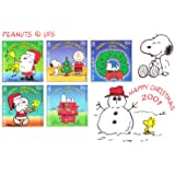 Christmas Snoopy, Charlie Brown, Peanuts Collectible Postage Stamps 894A