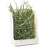 """CALPALMY Hay Feeder for Rabbits, Guinea Pigs, and Chinchillas - Minimize Waste and Mess with 5 1/2"""" x 3"""" x 7 3/8"""" Hanging Alf"""