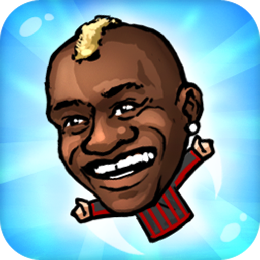 Flappy Footballer-Hand Puppet league in the big head nofeet Marionette (Big Head Sports)