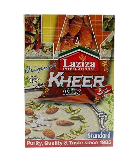 Laziza Kheer Mix Standard 155g - mezcla para arroz con leche indio