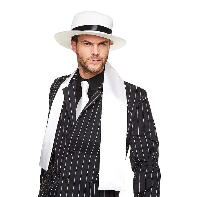 Amazon.com: Gangster Boss mens Fancy Dress 20s Mafia traje ...
