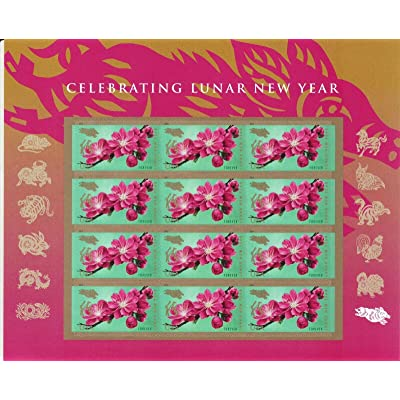 2020 USPS Year of The Boar/Pig Sheet of 12 Forever Postage Stamps Scott 5340: Everything Else