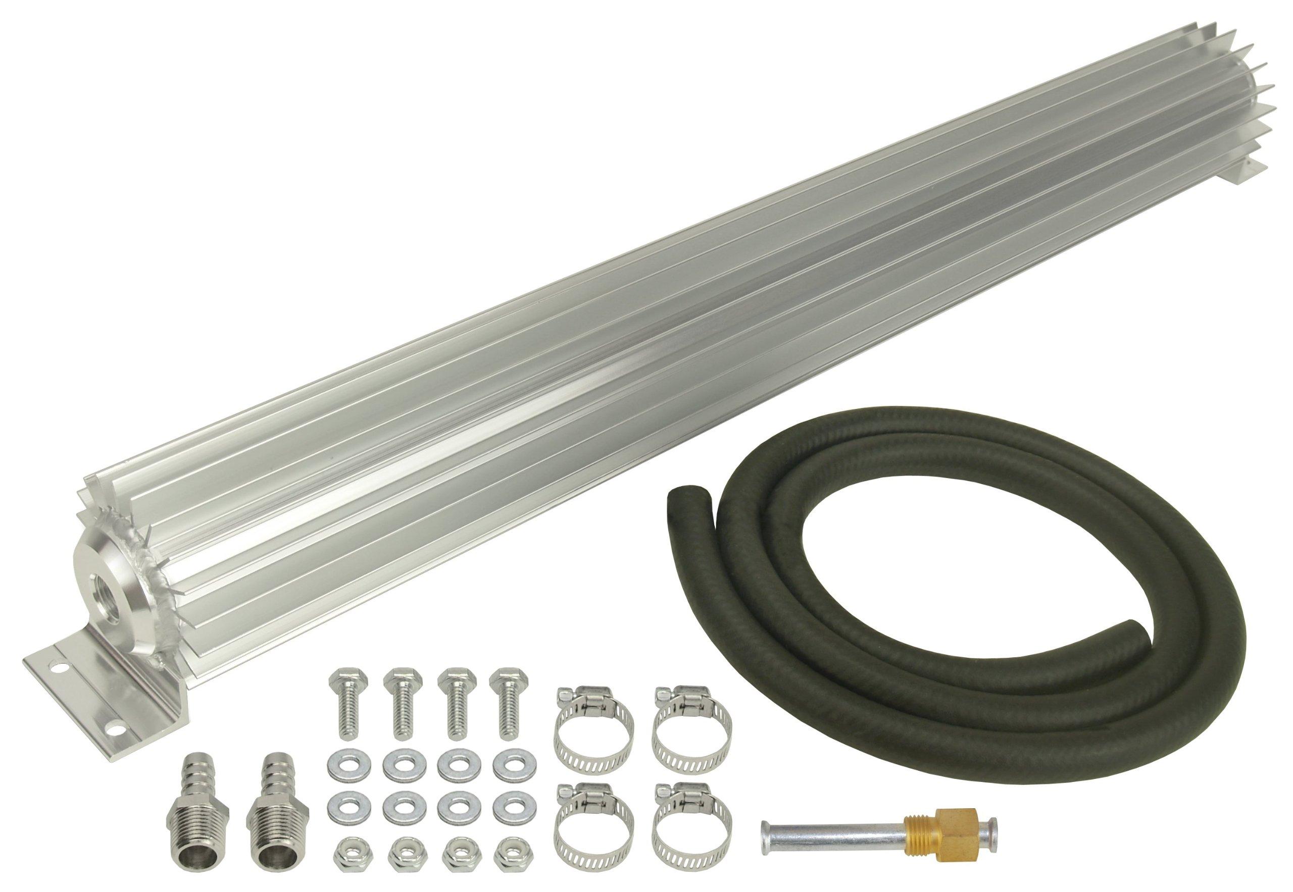 Derale 13256 Single Pass Aluminum Heat Sink Cooler by Derale