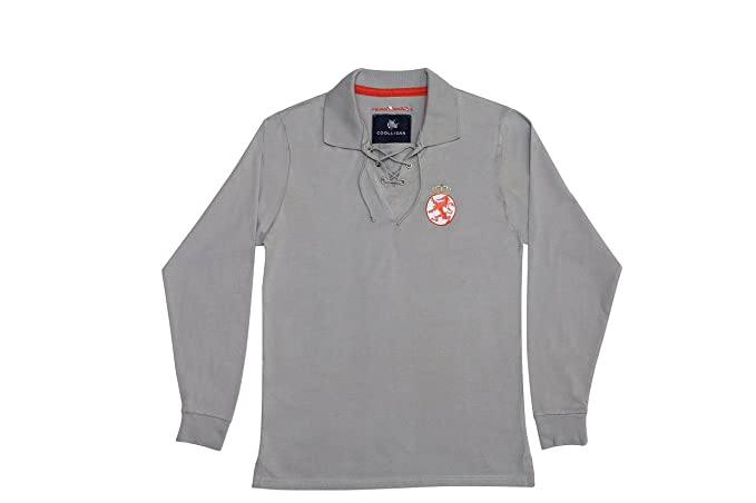 Coolligan - Polo de Fútbol Retro 1923 Cultural - Color - Gris - Talla - 3XL: Amazon.es: Ropa y accesorios