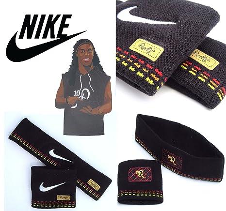 Nike Ronaldinho Adulto Unisex 1 Fascia e 1 Braccialetto Set SE0154 065 1SIZE 5aa6f253f7db