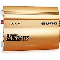 auna Goldhammer Amplificador para Coche de 2 Canales