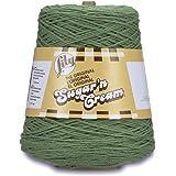 Lily Sugar N Cream Cones Ball of Yarn, Sage