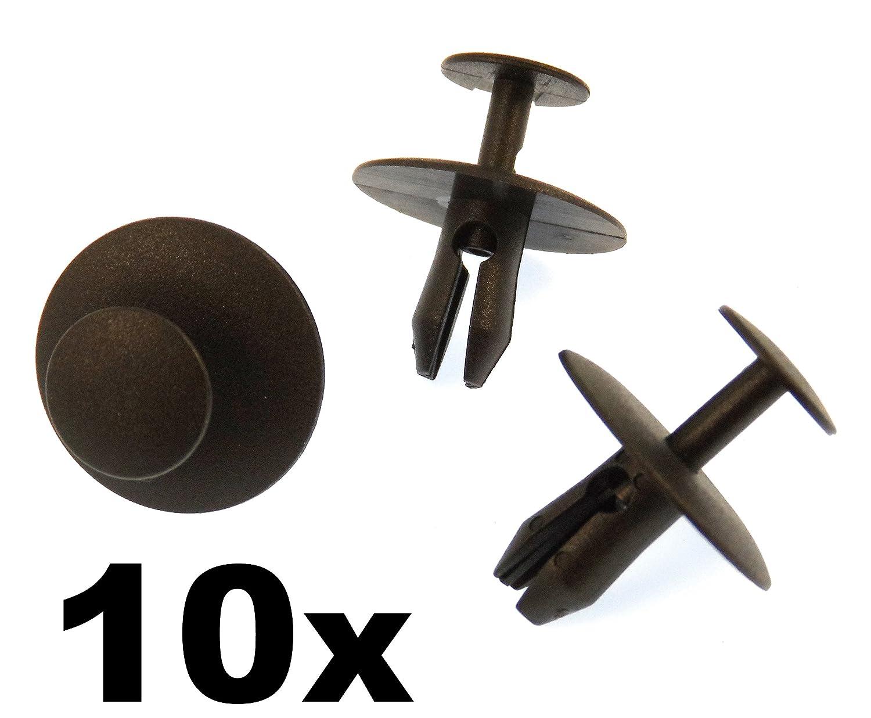10x Agrafes Pour Vehicules - Plastique Colliers Rivet- Clips Garniture Verrouillages Pour Capot 6997T2, 6997.T2, 699783, 6997.83