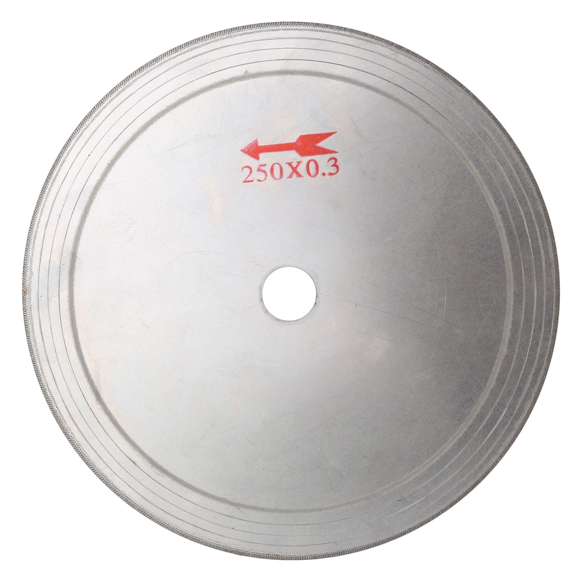 ILOVETOOL 10 inch Thin Edge Wet Diamond Blade Disc Lapidary Saw for Stone Tools