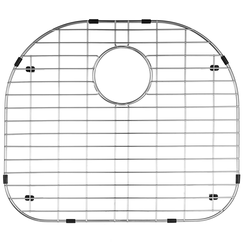 "Serene Valley Sink Protector and Kitchen Sink Bottom Grid NDG2421, 304 Premium Stainless Steel, dim 19 3/8"" x 16 3/4"""