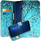 CMID CUBOT X18 Hülle, PU Leder Brieftasche Handytasche Flip Bookcase Schutzhülle Cover mit [Kartensteckplatz] [Magnetverschluss] [Ständer] [Handschlaufe] für CUBOT X18 (5,7 Zoll) (A-02)