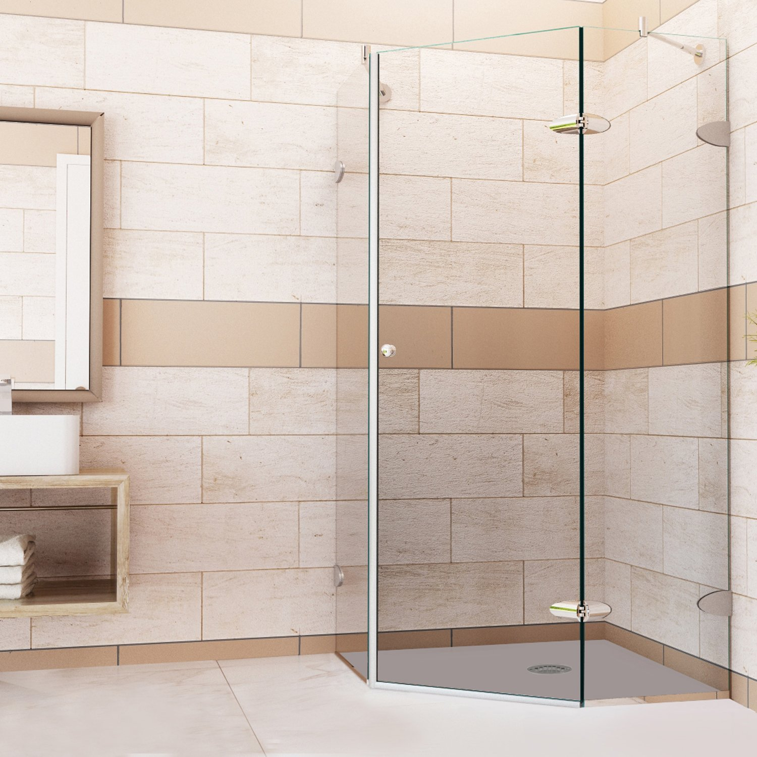 p com door pirouette homeclick shower industries vigo frameless
