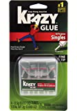 All Purpose Krazy Glue KG58248SN Krazy Glue All Purpose Singles, 0.5 oz. Tubes, Multicolor, 4 Count