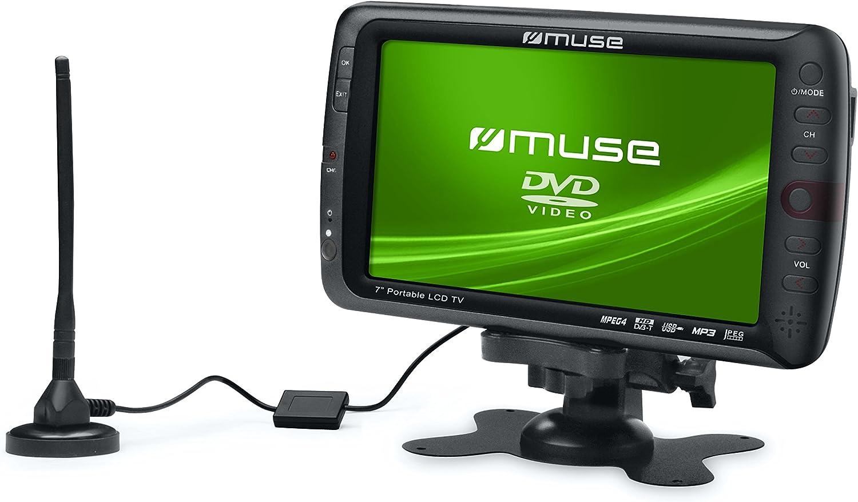 Muse M-115 TV - Televisor portátil (pantalla de 17,8 cm (7