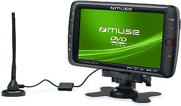 Muse M-115 TV - Televisor portátil (pantalla de 17,8 cm (7 ...