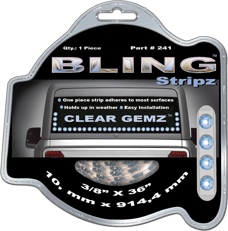 Striped bling self-adhesive tape laptop rhinestone car sticker crystal decal