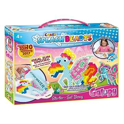 CRAZE- fusibles Fuse Beads Splash BEADYS Starter Bowy Galupy Craft Kit Juguete Cuentas de Agua 12284: Juguetes y juegos