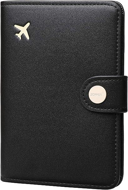 Amazon.com: Zoppen Funda de protección para pasaporte, con ...