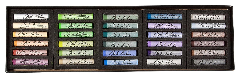 Jack Richeson Round Landscape Signature Pastels (Set of 30) Jack Richeson & Company Inc. 4290301